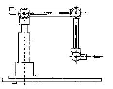 数控雕铣机床雕铣机器人的机械结构简图